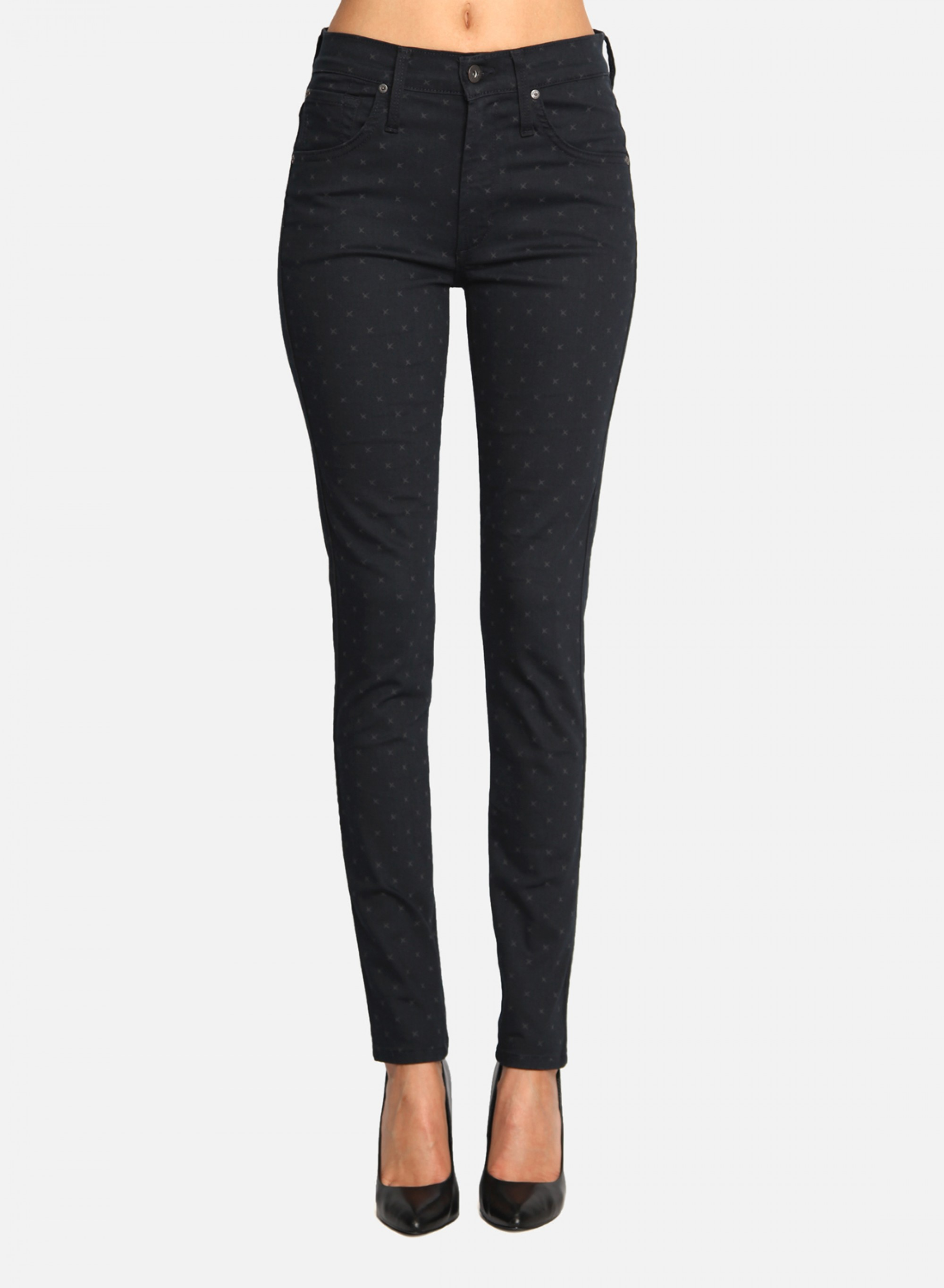 James Jeans Womens High Class Skinny Midnight Twinkle