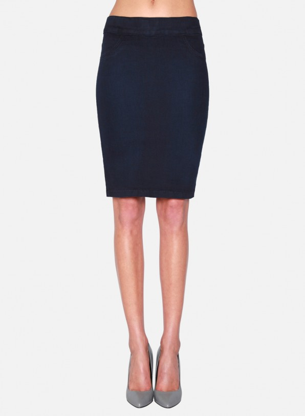 Slip-On Pencil Skirt